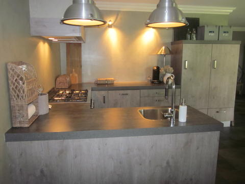 Mooie nieuwe keuken in Vroomshoop!