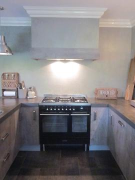 Mooie nieuwe keuken in Vroomshoop