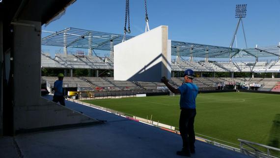 bouw heracles stadion