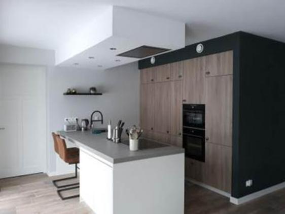 Nieuwe gezellige woonkeuken opgeleverd in Zeddam