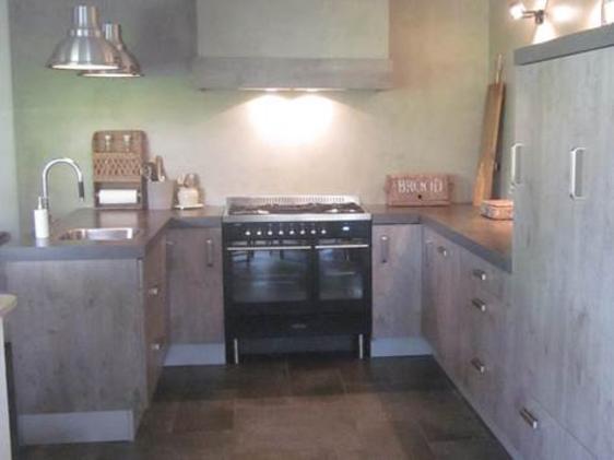 Landelijk moderne keuken in Vroomshoop