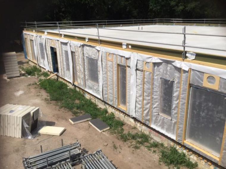 HSB Wanden Rots bouw