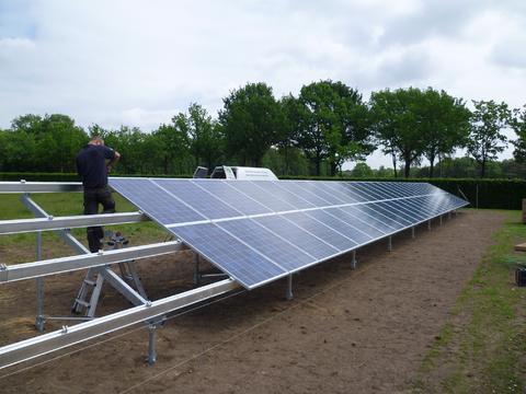 Ook toe te passen voor zonnepanelen