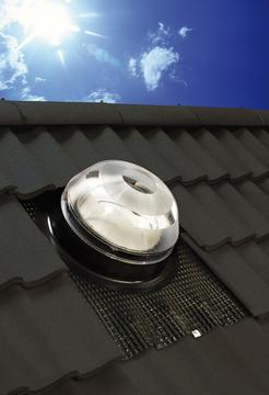 Solatube op helland dak